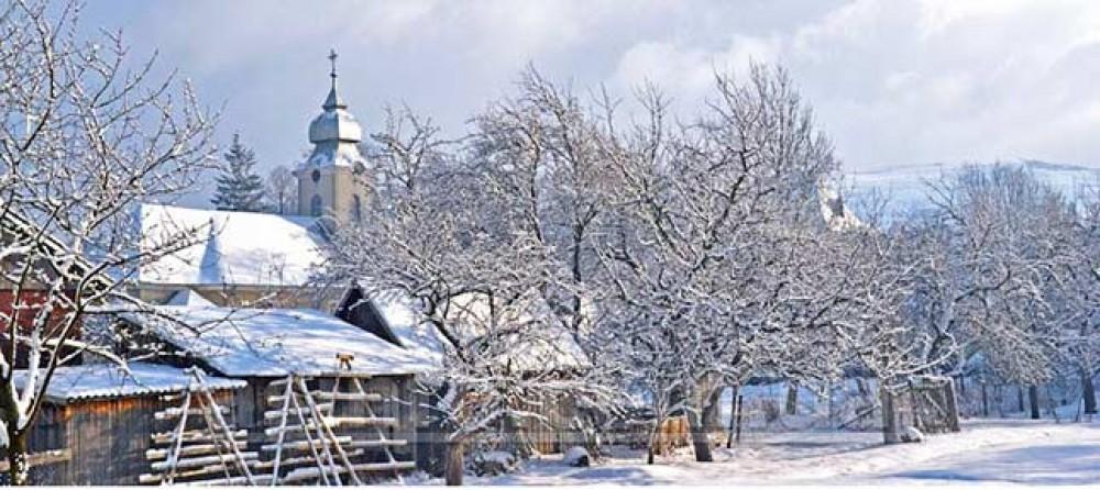 Карпаты из Харькова. Рождественский Буковель