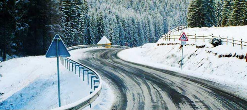 Зимние Высокие Карпаты