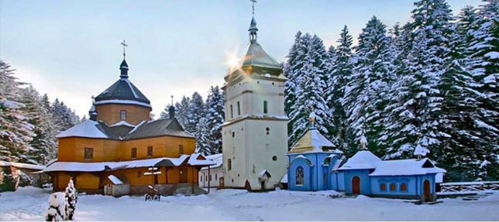 Карпаты из Харькова. Новогодняя Тиса